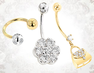 Gold Body Jewelry