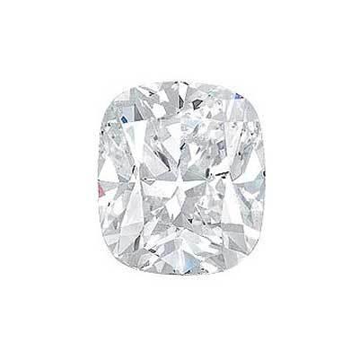0.60ct Cushion Cut Diamond I VVS2 GIA Certified
