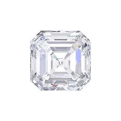 0.73CT. ASSCHER CUT DIAMOND H VVS2