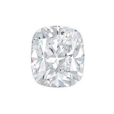 0.96CT. CUSHION CUT DIAMOND G VS2