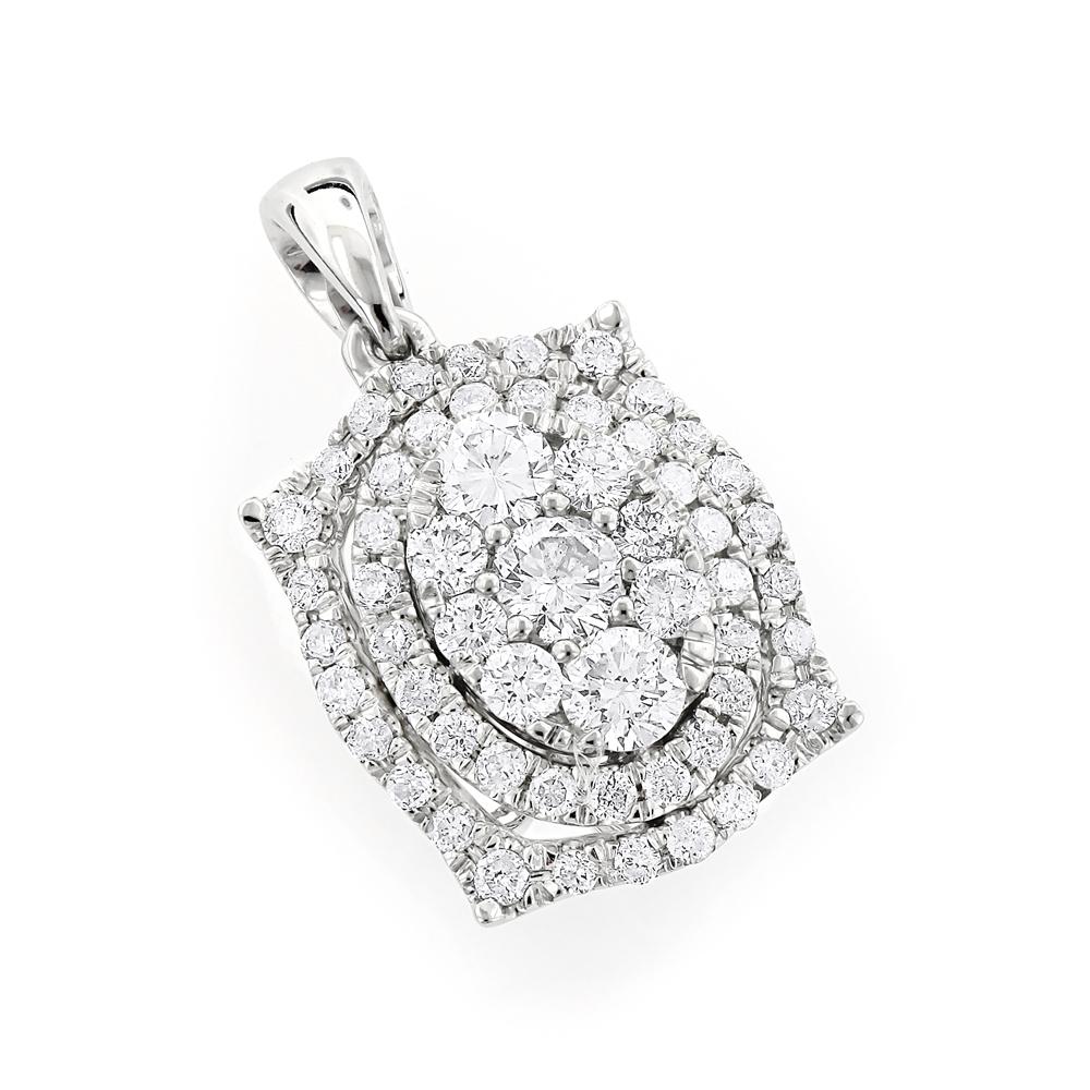 1 carat cluster fashion ladies diamond pendant 14k yellow rose 1 carat cluster fashion ladies diamond pendant 14k yellow rose white gold mozeypictures Gallery