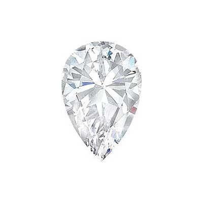 1.21CT. PEAR CUT DIAMOND F SI2