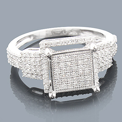 14K Affordable Diamond Engagement Ring 0.53ct