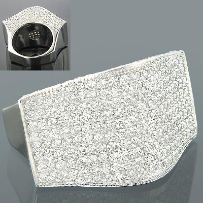 14K Gold Designer Diamond Rings Collection Item 6.35ct