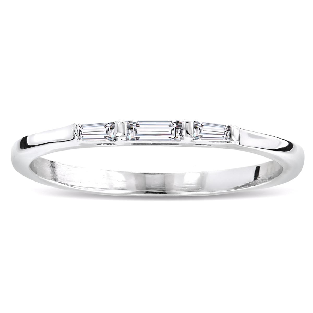 Ultra Thin 14K Gold Diamond Designer Engagement Ring Band 0.23ct