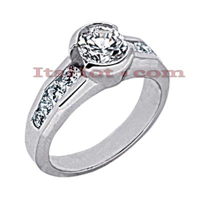 14K Gold Diamond Engagement Ring 1.54ct