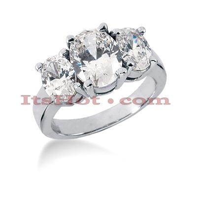 14K Gold Diamond Engagement Ring Mounting 1.50ct