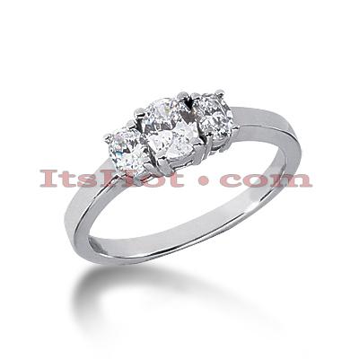 Ultra Thin 14K Gold Diamond Engagement Ring Setting 0.30ct