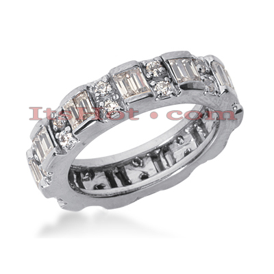 14K Gold Diamond Eternity Band 1.65ct