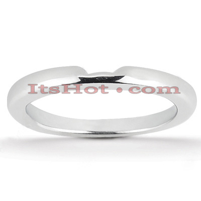Thin 14K Gold Engagement Ring Band