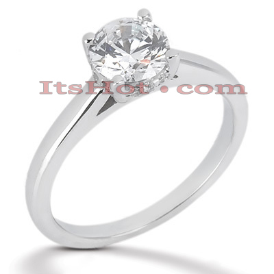 14K Gold Engagement Ring Setting 0.04ct