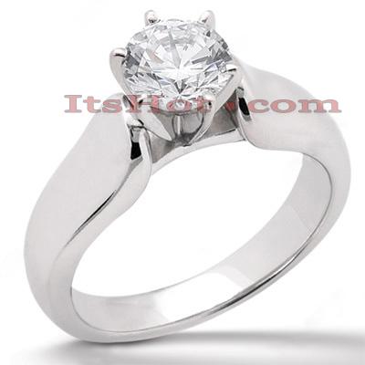 14K Gold Engagement Ring Setting