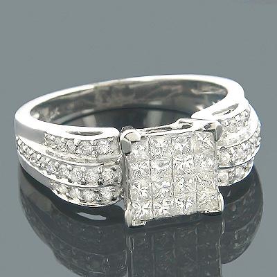 14K Gold Pre-Set Diamond Engagement Ring 1.40ct
