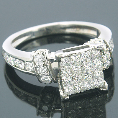 14K Gold Pre-Set Diamond Engagement Ring 1.72ct