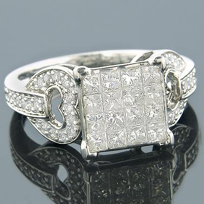 14K Gold Pre-Set Diamond Engagement Ring 1.75ct