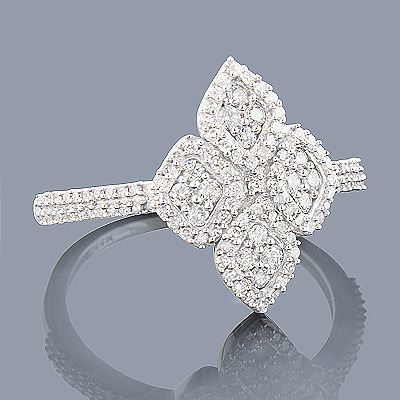 14K Ladies Diamond Ring 0.48ct