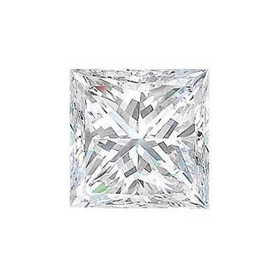 1.55 CT Princess Cut Diamond J VS1 GIA Certified