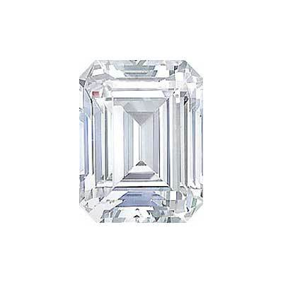 1ct Emerald Cut Diamond I VS1 GIA Certified