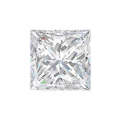 2CT. PRINCESS CUT DIAMOND E VS1