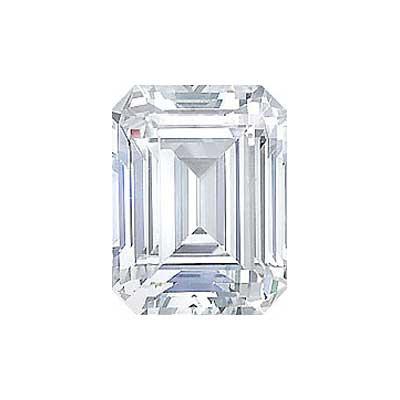 3.01CT. EMERALD CUT DIAMOND J SI1