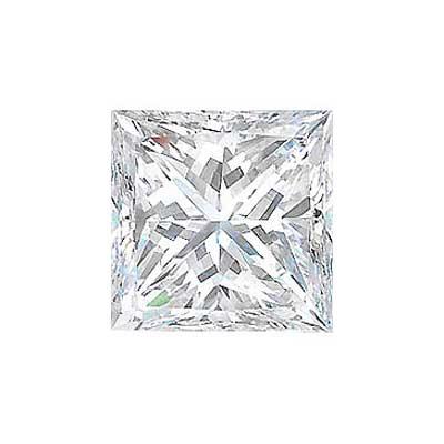 3.34CT. PRINCESS CUT DIAMOND E SI1