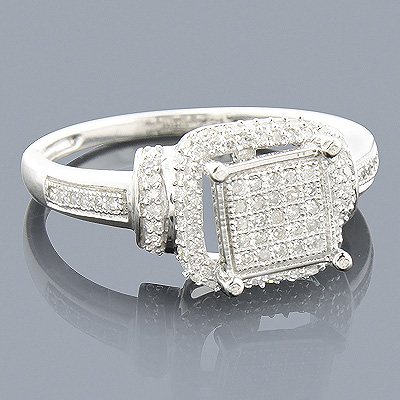 Affordable Diamond Engagement Ring 0.33ct