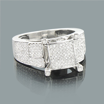 Affordable Diamond Engagement Ring 0.68ct 10K Gold