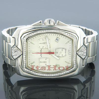 Aqua Master Diamond Watches Mens AquaMaster Watch 1.25