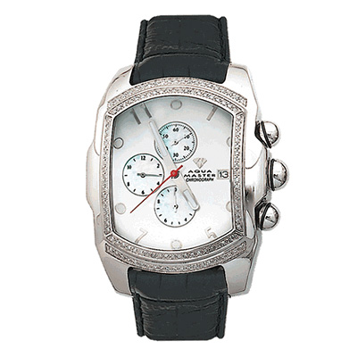 Aqua Master Diamond Watches Mens Bubble Watch 1.50ct
