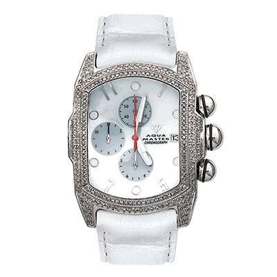 Aqua Master Diamond Watches Mens Bubble Watch 3.50ct