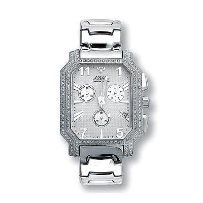 Aqua Master Diamond Watches Mens Stainless Steel Watch