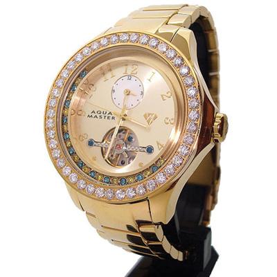 Aqua Master Tourbillon Floating Diamond Watch 5.75ct