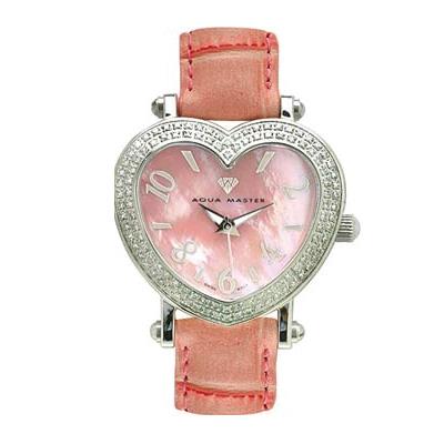 Aqua Master Watches Diamond Heart Shaped Watch 1.25ct