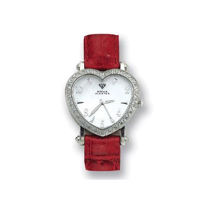 Aqua Master Watches Heart Shaped Diamond Watch 0.50ct