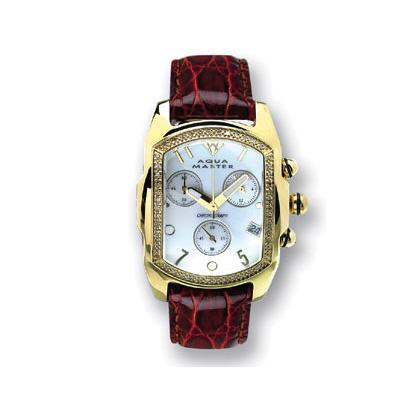 Aqua Master Watches Ladies Bubble Diamond Watch 0.30ct