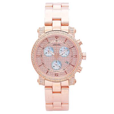 Aqua Master Watches Ladies Diamond Watch 1.75ct Rose