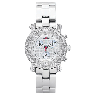 Aqua Master Watches Ladies Diamond Watch 2.20ct White