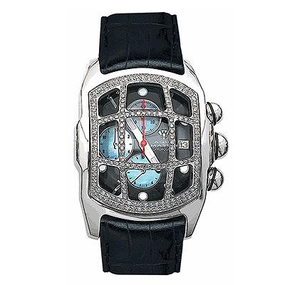 Aqua Master Watches Mens Diamond Bubble Watch 1.75ct