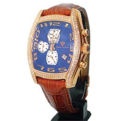 Aqua Master Watches Mens Diamond Watch 2.00ct