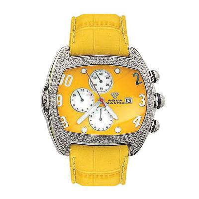 Aqua Master Watches Mens Diamond Watch Aqua Beetle 2ct