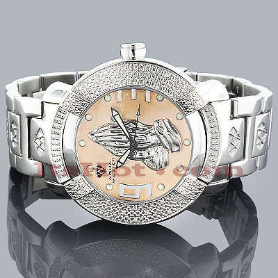 Aqua Master Watches Mens Diamond Watch Praying Hands