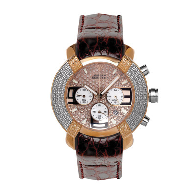 Aqua Master Watches Stainless Steel Mens Diamond Watch