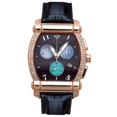 Aqua Master Watches Unisex Diamond Watch 1.50ct