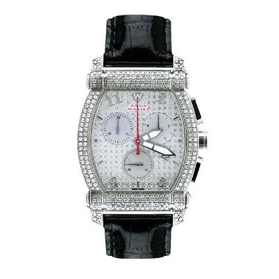 Aqua Master Watches Unisex Diamond Watch 2.50ct