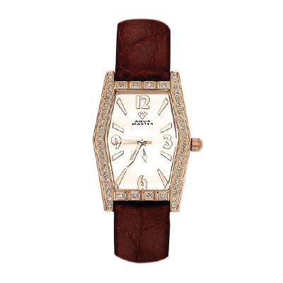 Aqua Master Watches Womens Pave Diamond Watch 0.70ct