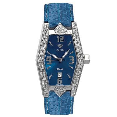 Aqua Master Watches Womens Pave Diamond Watch 1.50ct