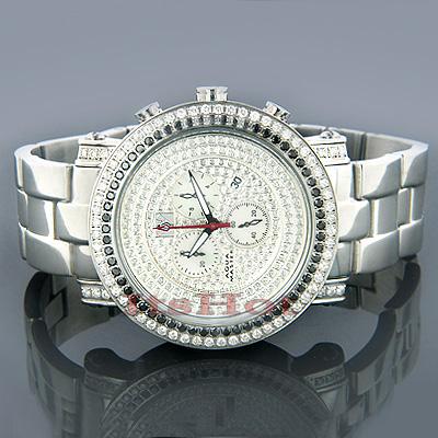 AquaMaster Watches Mens Aqua Master Diamond Watch 4.50