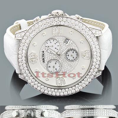Arctica VS Diamond Watches: Mens Luxury Watch 11.75ct