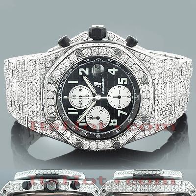 Audemars Piguet Mens Diamond Watch 27ct
