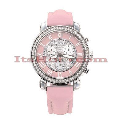 Benny and Co Watch Diamond Womens Watch 1.5ct Pink
